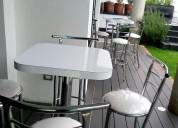 Salas lounge y periqueras para eventos.