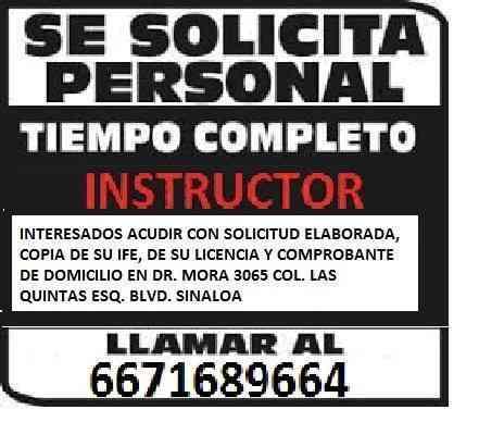 Autoescuela Culiacan tiene empleo para ti!