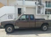 Camioneta s-10 1992 6 cils 5 velocidades guía hidráulica factura original