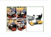 Carritos electricos para tiendas de autoservicio