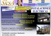 Instalaciones de media y baja tensión de electricidad
