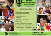 Terapia para niños en lenguaje, conducta y madurez