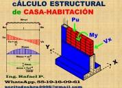 Arquitecto calculo estructural de casa-habitaciÓn
