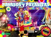 Show de payasos musicalizado para tu fiesta - df/edomex