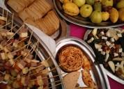 Brunch banquetes buffet almuerzo desayuno