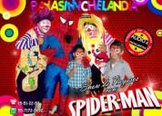 Show de payasos con spiderman - df/edomex
