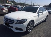 Mercedes benz c 200 2016 24000 kms