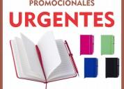 Libretas ecologicas promocionales o publicitarias urgentes