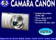 Camara canon elph180