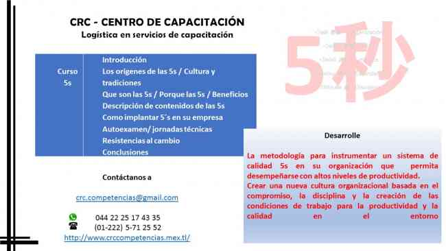 Curso metodologia capacitacion 5s