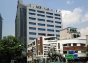 Renta oficinas amuebladas edif. corporativo