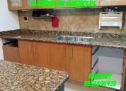 !!! fantasticas cubiertas o barras para cocina en granito !!!