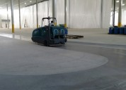 Lavado mecanizado de pisos industriales en todo el bajío!!