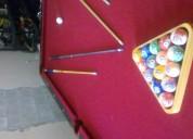 Vendo mesa de billar 9 pies profecional marca hold hose