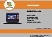 Laptop lenovo thinkpad b40-80