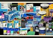 Venta de consumibles para impresoras (cartuchos de  toner y de tinta)
