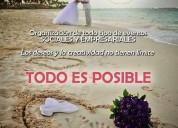 Wedding planner, coordinamos tu boda, todo es posible!!