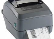 Impresora zebra gk420t de etiquetas