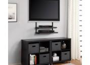 Instalador de tv. pantalla en pared con soportes bases incluidas