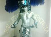 El azteca de plata show performance para tu fiesta