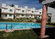 Venta de casas individuales en fraccionamiento con alberca, sur cuernavaca, morelos