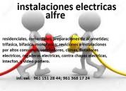 Instalaciones electricas alfre