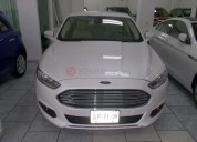 Ford fusion luxury 2015 47000 kms