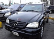 Mercedes benz ml 400 2001 60000 kms