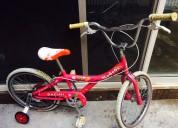 Bicicleta bacini gogogo niña