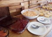 Rico desayuno buffet