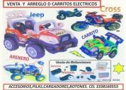 ReparaciÓn de carros elÉctricos montables.