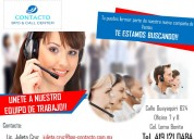 Asesores telefónicos (ventas-call center)