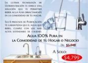 Purificador de agua residencial