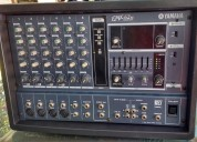 mezcladora amplificada 200w yamaha emx 62m