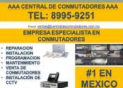 Mantenimiento profesional y servicio a conmutadores