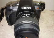 Vendo camara digital sony alpha 380 $6500