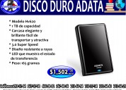 Disco duro adata de 1 tb portatil