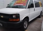 Chevrolet express passenger van 2014 30066 kms