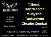 Taekwondo muay thai danza aerea morelia