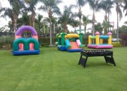Mesas de futbolito, air hcokey,juegos little tikes, inflables, brincolines,albercas de pelotas