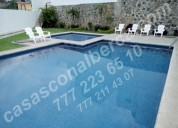 32 propiedades para la alberca, zona norte de cuernavaca