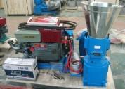 peletizadora 260mm 35 hp diesel para alfalfas y pasturas 400-450kg