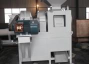 Prensa para hacer carbón en briquetas 4 toneladas hora