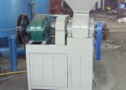 Prensa para hacer carbón en briquetas 1-2 toneladas hora
