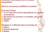 Candy bar para todo tipo de eventos