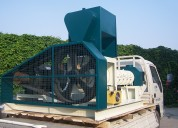 Extrusora para pellets flotantes para peces 700-800kg/h 75kw