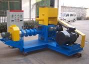 Extrusora para pellets flotantes para peces 500-600kg/h 55kw