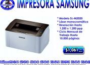 Impresora samsung m2020