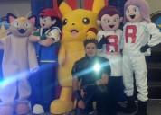 Show increÍble de pokemon