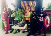 show increÍble de avengers en puebla